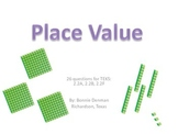 Place Value Review Game and Center
