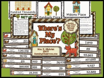 Place Value Review Game for Your Entire Class!