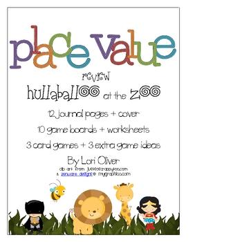 Place Value Review: Hullabaloo at the Zoo