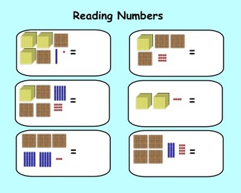 Place Value Review Interactive Smartboard Activities and Printables  Gr. 3-4
