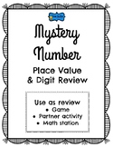 Place Value Review Mystery Number Game