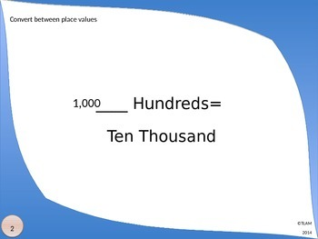Place Value Review PowerPoint