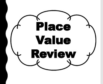 Place Value Review Questions