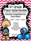 Place Value Review Robotics Competition for Dash Robot