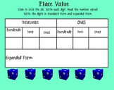 Place Value Review Smart Board