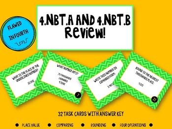 NBT Review Task Cards