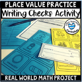 Place Value Review Worksheets Writing Checks