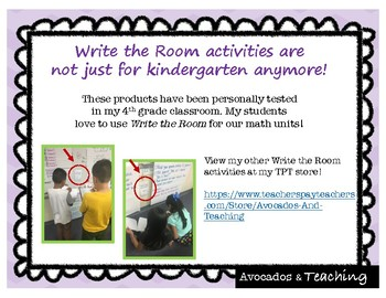 Place Value Review Write the Room, Scoot- Review of tens to millions for 4.NBT.1