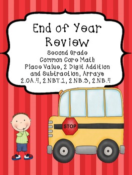 Place Value Review and Test-Second Grade Common Core Math
