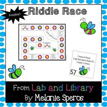 Place Value Riddle Race: Tens and Ones