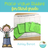 Place Value Riddle Task Cards