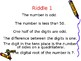 Place Value Riddles