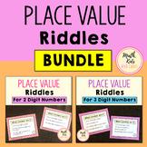 Place Value Riddles BUNDLE
