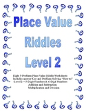 Place Value Riddles Level 2 (Up to Hundred Thousands Place)