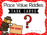 Place Value Riddles Task Cards