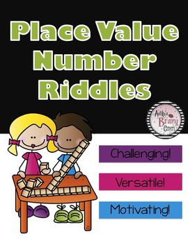 Place Value Riddles: Three Clues