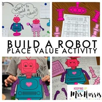 Place Value Robot Activity