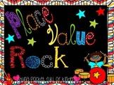 Place Value Rock