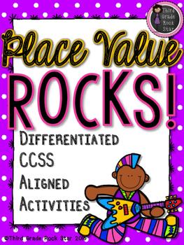 Place Value Rocks!  (CCSS Aligned Mega Pack)