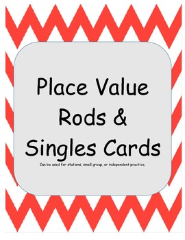 Place Value Rods and Singles Cards