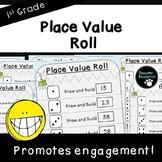 Place Value Roll Activity (First Grade, 1.NBT.2)