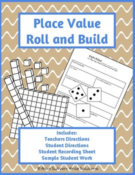 Place Value: Roll & Build