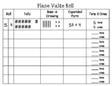 Place Value Roll   Dice Game   Number Sense