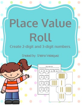 Place Value Roll  [Differentiated Station/Center Activity]