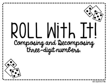 Place Value: Roll With It! - FREEBIE!!