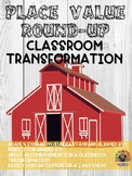 Place Value Round-Up, Wild West Themed Classroom Transformation with BONUSES!