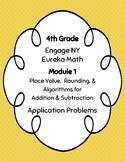 EngageNY and Eureka Math Application Problems - Grade 4 -