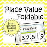 Place Value & Rounding Decimals Foldable