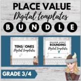 Place Value & Rounding! Digital & Printable Reasoning Temp