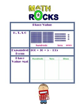 Place Value, Rounding, & Greater/Less Than Anchor Charts
