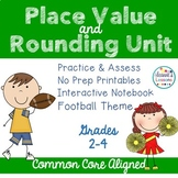 Place Value Worksheets and Interactive Notebook
