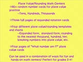 Place Value / Rounding Math Centers