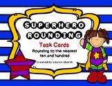 Superhero Rounding Task Cards