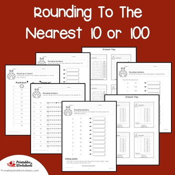 Place Value Rounding To The Nearest 10 or 100