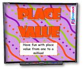 4th Grade Place Value SMART BOARD Game