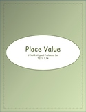 3rd STAAR Grade Place Value TEKS 3.1A (Previous TEKS)