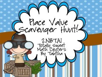 Place Value Scavenger Hunt!