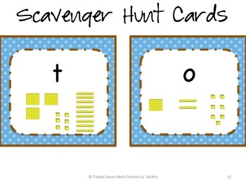 Place Value Scavenger Hunt!