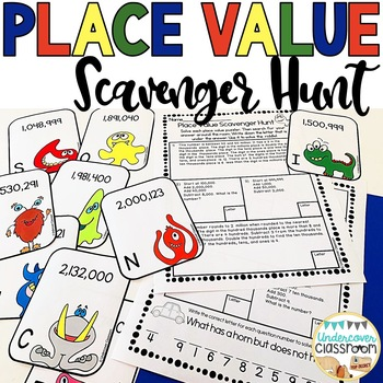 Place Value Scavenger Hunt: Enrichment Activity