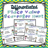 Place Value Scavenger Hunt Task Cards {3.NBT.1}