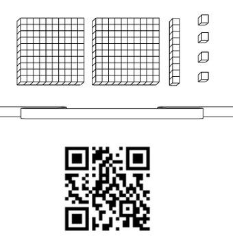Place Value Scavenger Hunt with QR Codes, 2.NBT.1 and 2.NBT.3
