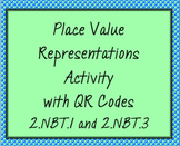 Place Value Scavenger Hunt with QR Codes, 2.NBT.1 and 2.NBT.3