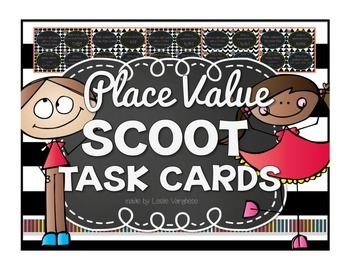 Place Value Scoot {4 digits}