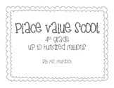 Place Value Scoot - 4th Grade