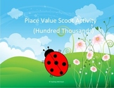 Place Value Scoot - Hundred Thousands Place