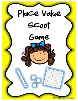 Place Value Scoot Game - Common Core Alligned